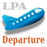 Departures from Airport Las Palmas