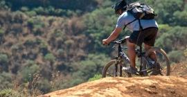 MTB bike excursion A3 from Las Palmas de Gran Canaria: on gravel roads to the old town of Las Palmas
