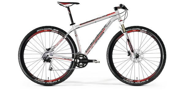 Merida Big NINE also available for taller riders