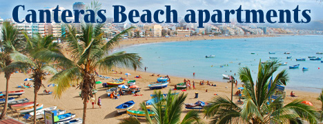 Canteras Beach Apartment Rental Las Palmas